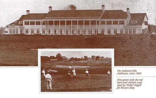 Oakland Hills Clubhouse Circa 1922